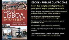(EBOOK) Ruta de Lisboa en 4 días: Centro Histórico, Belém y Sintra