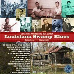 Louisiana Swamp Blues (4CD): Various Artists - propermusic.com