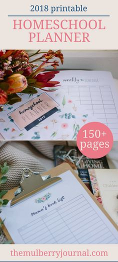 If you are looking for homeschool inspiration or how to organise your homeschool, here are our beautiful printable homeschool planners to help you plan your lessons. There are over 150 pages of printable diary sheets to help you plan your homeschool activities and organise your child's education. We hope you love these downloadable printables as much as we do.