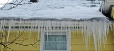 The perfect conditions for ice dams are large amounts of snow and temperatures in the teens and twenties, which is what we're expected to have this week. Ice Dams, Roofing Systems, Home Inspection, Metal Roof, December 11, Snow, Shovel, Rivers, Outdoor