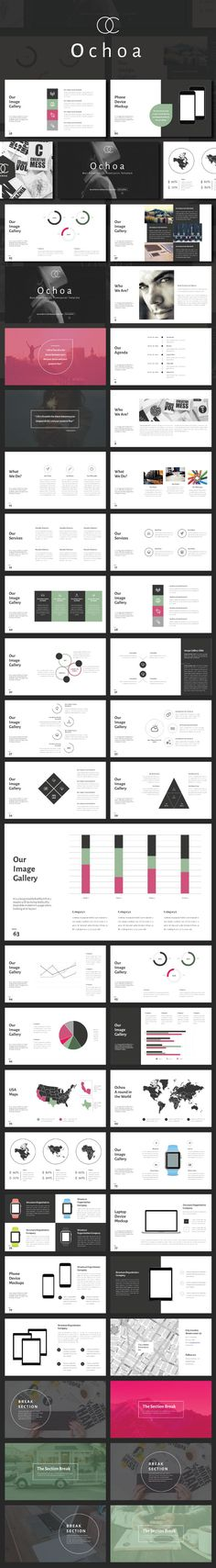Ochoa Minimal Powerpoint Template • Download ➝…