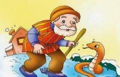Historia para reflexionar: La serpiente y el hombre. ~ Maestra Hazblog