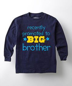 Loving this Navy 'Recently Promoted' Tee - Toddler & Boys on #zulily! #zulilyfinds