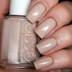 #Essie Topless and Barefoot and #chinaglaze Fairy Dust. Love this combo!