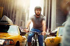 New York - cycling by Simon Geis