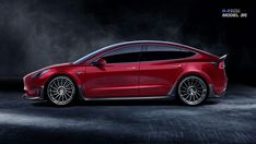 Tesla Model 3 gets dramatic new look from RevoZport - Page 3 - Roadshow Hybrids And Electric Cars, Eco Friendly Cars, Tesla Motors, Mustang Cars, Car Ford, Ford Focus, Concept Cars, Military Vehicles, New Look