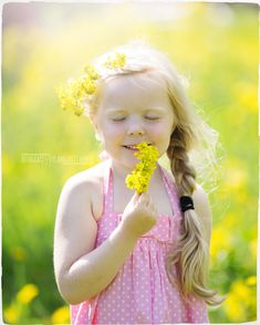 Look at the flowers all beautiful and yellow! Love this little one to. It`s a fairytale. Girls Dresses, Flower Girl Dresses, Fairytale, Yellow, Wedding Dresses, Photography, Beautiful, Fashion, Flowers