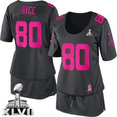 70ef11fb0 Nike Baltimore Ravens Ray Rice Elite Dark Grey Breast Cancer Awareness With  Art Patch Super Bowl XLVII Women NFL Stitched Jersey. san francisco 49ers  store