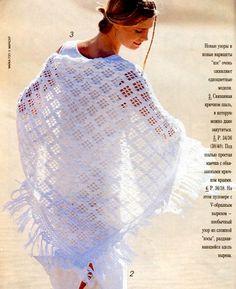 Шали, палантины спицами и крючком - Tatiana Alexeeva - Picasa Web Albums