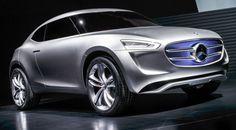 Mercedes-Benz G-Code, concept-car révélé en novembre 2014 à Pékin (Chine), évoquant un futur crossover urbain