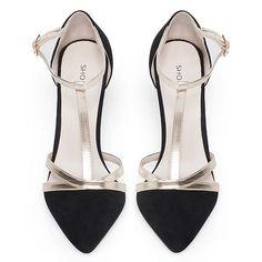 ShoeMint Bourne Women's Strappy Suede High Heels