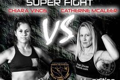 Vincis Vs McAleer 19th November in Genoa, Italy Just a fortnight to go and #CathyMcAleer will face, #Italian, Luca Cuccu Vincis for an International #kickboxing bout under full #K1 #rules.