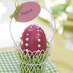 """How to blow out eggsLearn to decorate with hallowed out Easter eggs. The technique of """"blowing out"""" eggs will allow you to display and keep your beautiful Easter egg crafts."""