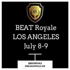 We are excited to announce BEAT Royale WEST will be taking place July 8-9 at Art Share-LA 801 E 4th Pl Los Angeles CA 90013.  This is going to be an extra special edition of BEAT Royale with more battles showcases and performances PLUS industry talks/panels networking label meetings and more!  We'll be announcing more details in the coming days.  Until then get your ticket EARLY!! We are expecting a SELL OUT EVENT!!! For general questions about the event contact jeff@dynamicproducer.com…