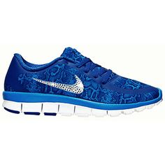 Bling Nikes Nike   Run 5.0 Bling Nike   Run Swarovski Nike Rhinestone... ($158) ❤ liked on Polyvore featuring shoes, athletic shoes, light purple, sneakers & athletic shoes, tie sneakers, women's shoes, rhinestone shoes, snake shoes, python shoes and blue snakeskin shoes