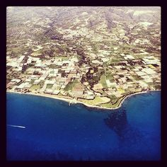 A gorgeous, aerial view of Cyprus #flying