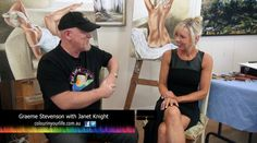 Colour in Your Life featured artist Janet Knight appeared on Colour In Your Life Season Ten See her online episode here. Your Life, Art Tutorials, Knight, Tv Shows, My Love, Colour, Inspiration, Color, Biblical Inspiration