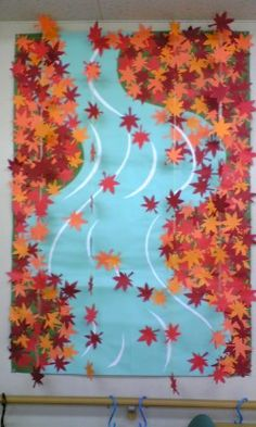 Japan Crafts, Elementary Art, Fall Crafts, Google Images, Painting, Color, Naver, Autumn, Ideas