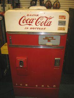 old school coke machine!!!