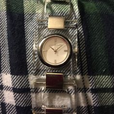 Michael Kors watch Michael Kors see threw bracelet watch. Very nice just needs a new battery Accessories Watches