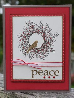 wreath and bird