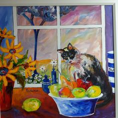 A kitty cat by Portchie