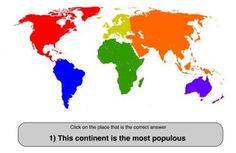 Continents - Interactive Learning Sites for Education