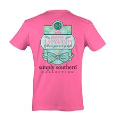 Simply Southern Preppy Classy Happy T- Shirt