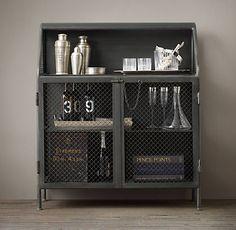 Bar Storage u0026 Carts | Restoration Hardware