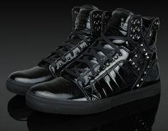 Supra Footwear NS Skytop - Black Studded | KicksOnFire.com
