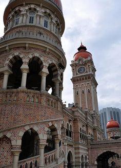 Merdeka Square, Kuala Lumpur, Malayisa.