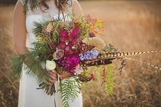 A Bohemian Inspired Wedding Shoot with Artistic Soul…