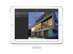SARAH all in one Smarthome System by http://hubware.house/produkte/ designed by http://appswithlove.com/ #iPad