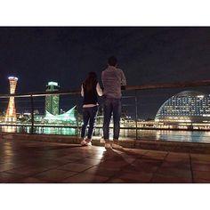 Instagram【ayane.ohno】さんの写真をピンしています。 《・ ・ 今回は神戸っといた😚💭 遠いのにいつもありがとう! ・ 送ってくれてそっから2時間かけて 実家に帰ってる🚙⚠️ 明日のニュースに出ませんように ・ #20191010 #神戸 #ハーバーランド #夜景 #japan #kobe #beautiful #nightview #l4l #iphoneonly #photo #instagram  #後ろ姿終わってる #なにこのお尻🍑 #もっと痩せないとやばいやつ》