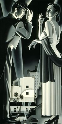 Art Deco Couple