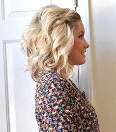 Front Hairstyle for Girls