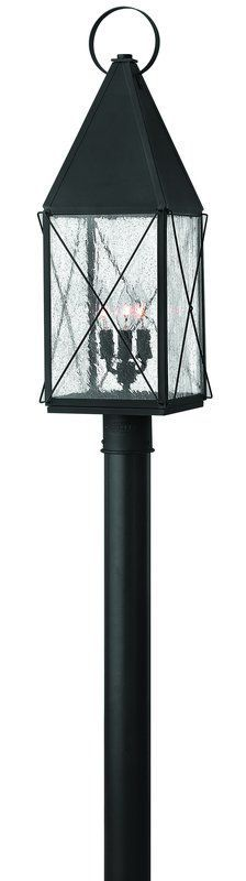 View the Hinkley Lighting 1841 3 Light Post Light from the York Collection at LightingDirect.com.