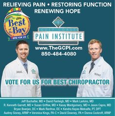 """Voting is now open! We would love to have your votes for """"Best Chiropractor"""" again this year. Online voting for PNJ's """"Best of the Bay"""" will end June 5th at 5PM. Thank you in advance for taking time to vote. vote here: bestof.pnj.com"""