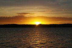 Pôr do Sol - Praia de Jacaré - Cabedelo-PB