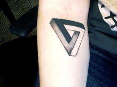 Penrose Triangle Tattoo - Google Search