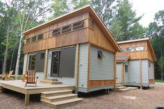 Modern Pre-fab Cottage Modules