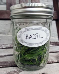 Freezing, Drying, and Storing Herbs 101 – HOMEGROWN I love gathering, drying and using my own herbs while cooking. :Presented well, your home grown herbs can be an artform or decoration. Can't you see this in your kitchen?