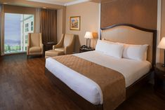 Renovated South Point Hotel Room