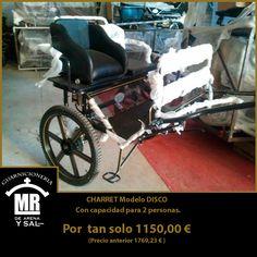 #oferta especial Charret modelo disco. #carruajes