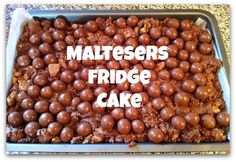 Maltesers Fridge Cake I'd like to apologise for abandoning you. It's not you, it's me. Well, more specifically - it's been too hot to bake. Sadly my kitchen isn't a fancy air conditioned one. It's a...