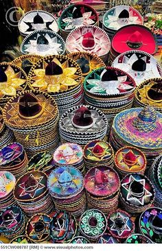 Colorful sombreros: Learn more about Mexico, its business, culture and food by joining ANZMEX Mexican Hat, Mexican Style, Mexican Rodeo, Maya, Party Mottos, Mexican Heritage, Mexico Culture, Visit Mexico, Thinking Day