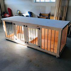 Hunde Sachen Kaufen : indoor wooden dog crate brilliant hundeh tten hundezimmer und hund kisten m bel ~ Watch28wear.com Haus und Dekorationen