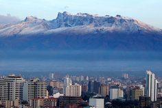 Cochabamba, Bolivia with Mt. Tunari in the background