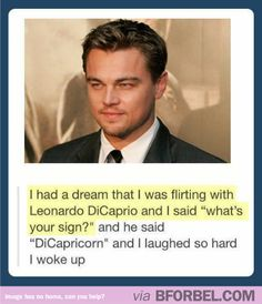 Leonardo DiCaprio doesn't even know how much people think about him