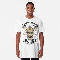 Promote   Redbubble Hard Rock, Rock N Roll, Mens Tops, T Shirt, Musik, Supreme T Shirt, Tee Shirt, Rock Roll, Tee